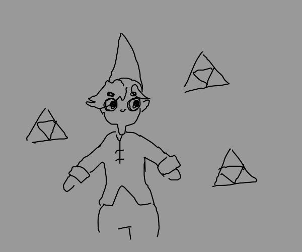 link has 3 triforces