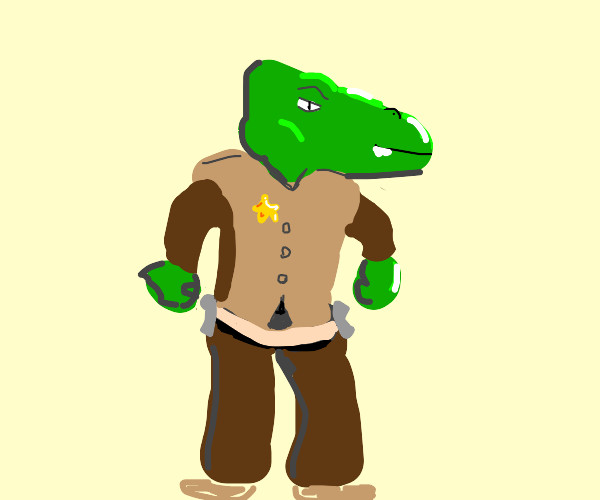 Sheriff Alligator, The Best in the West