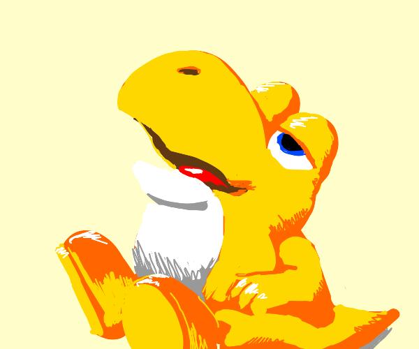 Yellow Baby Yoshi