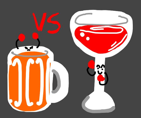 Beer vs. Wine: The Ultimate Showdown