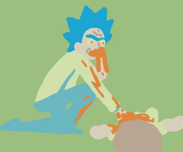 cannibalistic rick