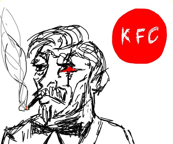 kfc but its creepy
