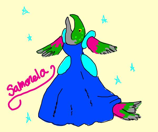 Salmon Princess