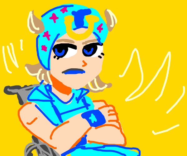 Johnny Joestar from Steel Ball Run