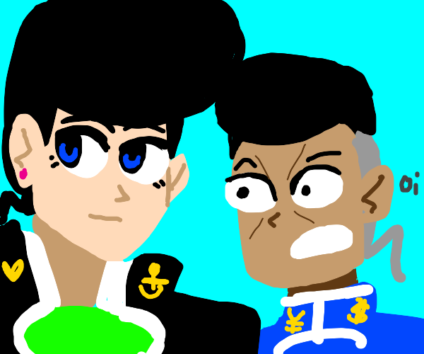 Josuke and Okuyasu part 4