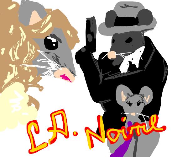 LA Noire but with Mice