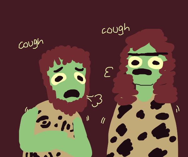 The Coronavirus, caveman-style