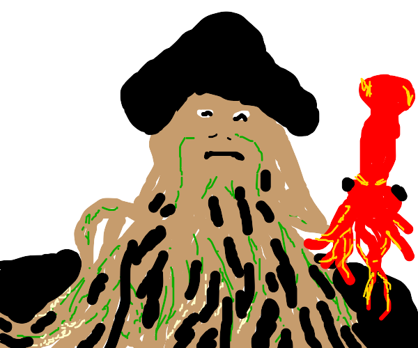 davy jones offended by squid