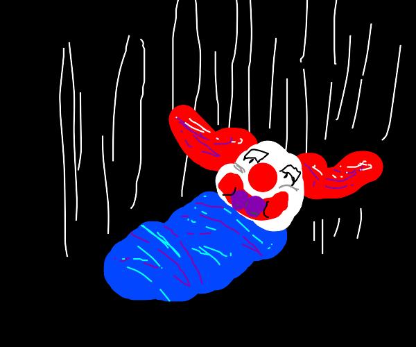 baby falling (RIP BOZO)