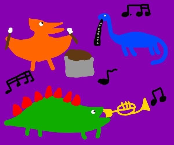 dinosaurchestra part two