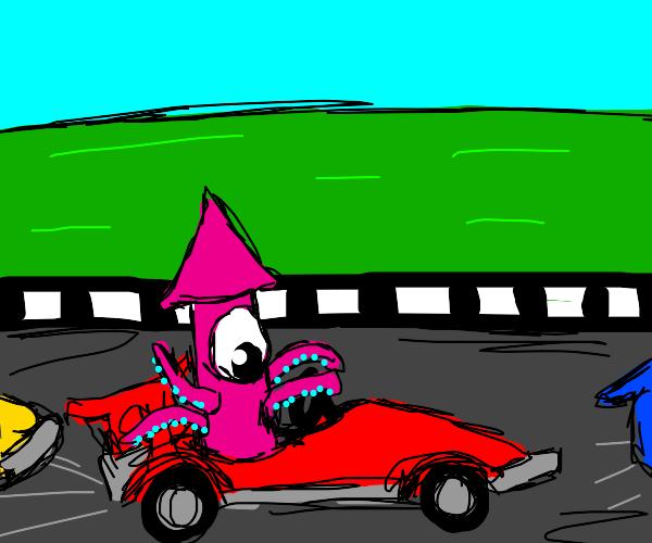 Squid Racing