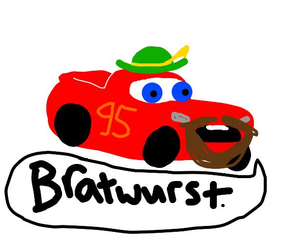 German race car