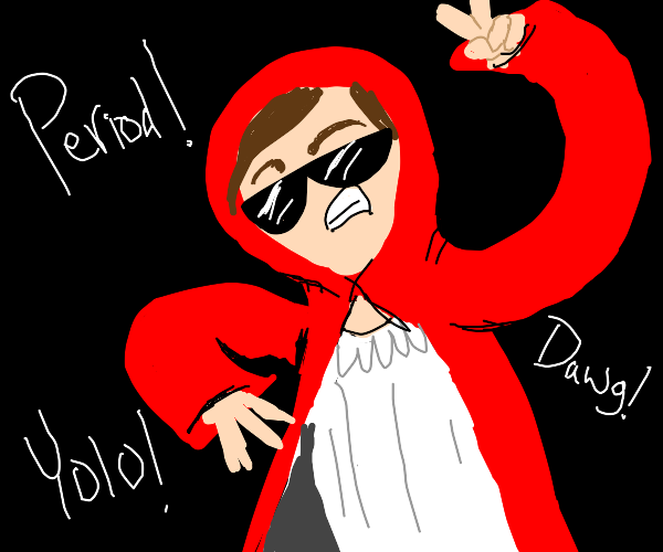 red riding hood saying period
