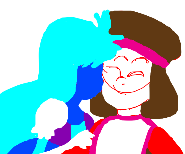 ruby and saphiyer  from Steven univers
