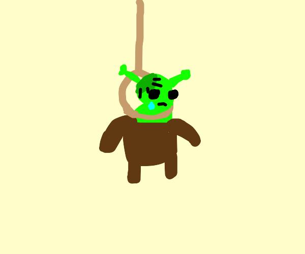 hanged Frankenshrek