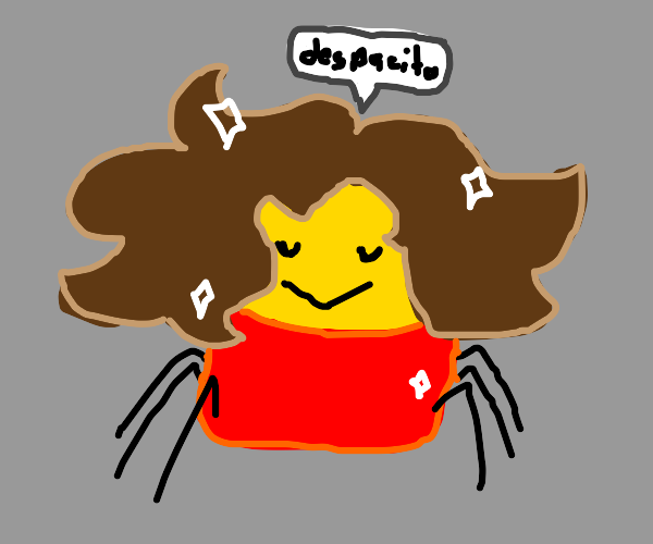oofpacito spider has hair