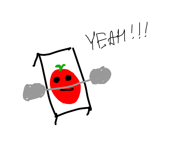 tomato working out