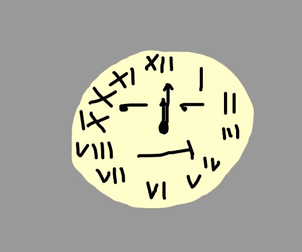 Bored Clock