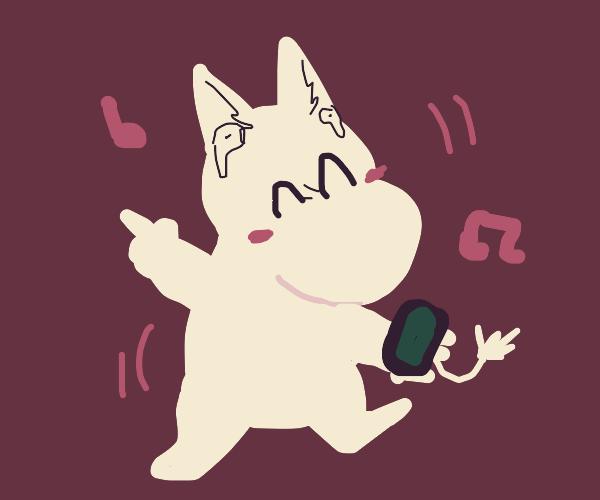 moomin dancing!