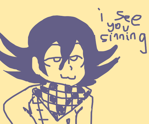 Kokichi knows your search history