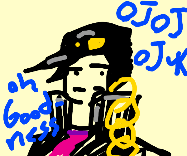 a jojo character, but don't make it obvious