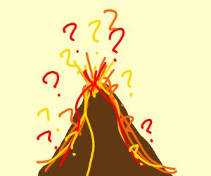 Erupting Volcano w/ ?'s