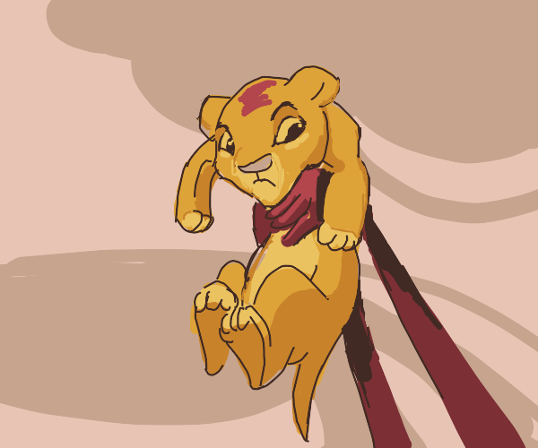 lion king, Simba introduced to animals