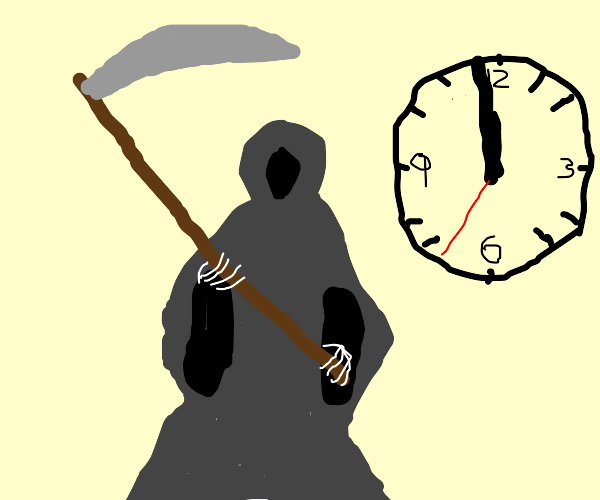 the clock ticking down to your doom.