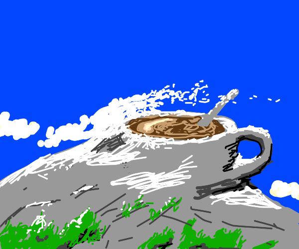 Coffee Inside Mountain