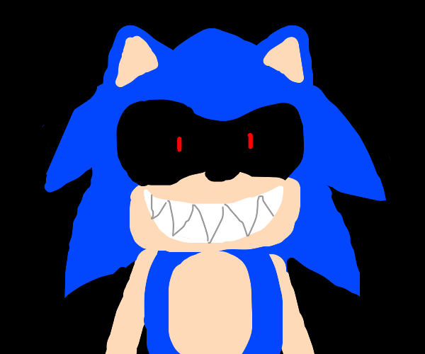 Sonic.exe In Darkness