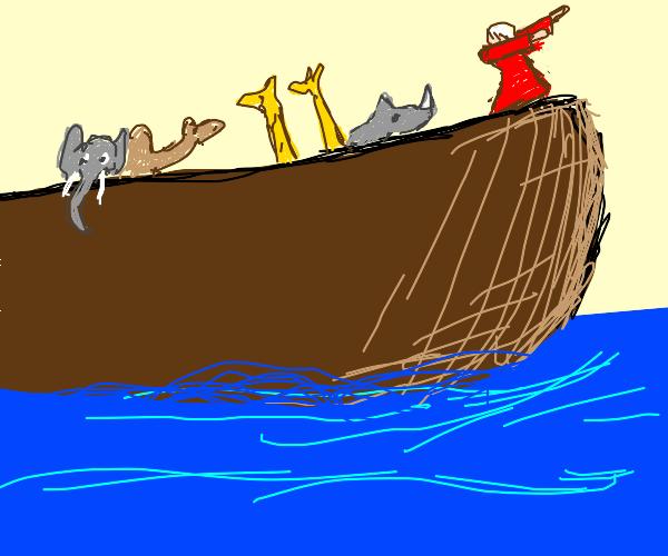 Person named Noah dabbing