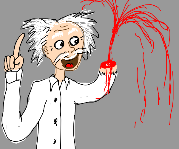 Ah-hah! I have invented... Blood!