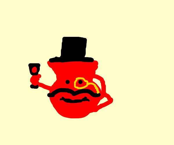 Kool Aid man feels like a sir