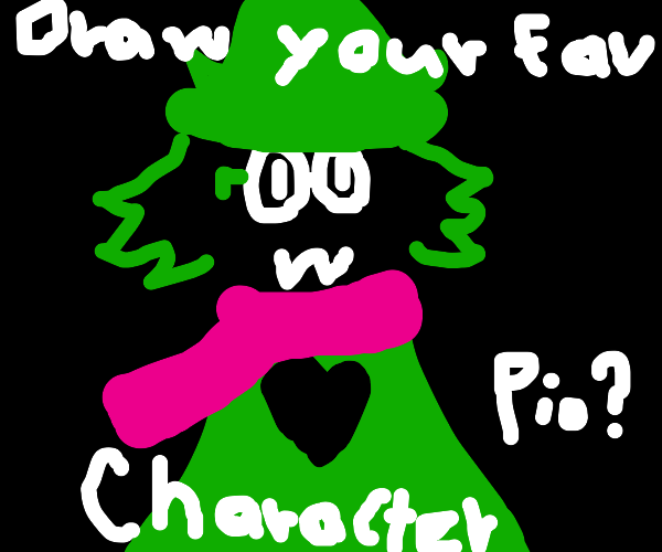 Draw your favorite character