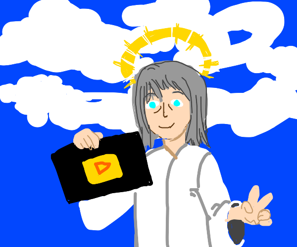 God is a youtuber now