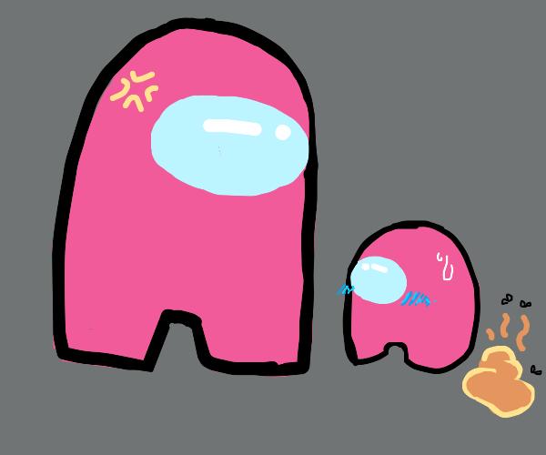 Pink watches mini pink poop