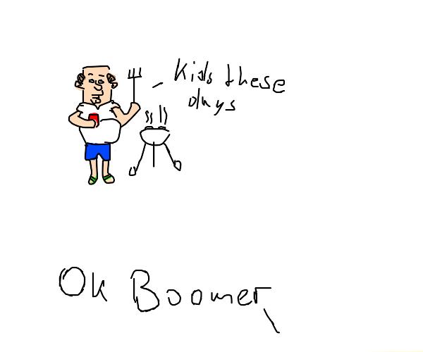 A boomer