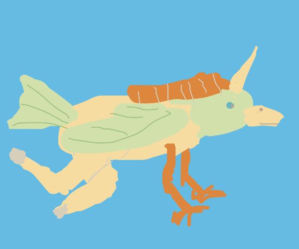 Bird-Unicorn Fusion