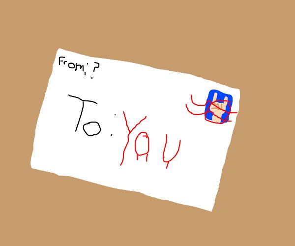 Mysterious envelope!!!!!!!!