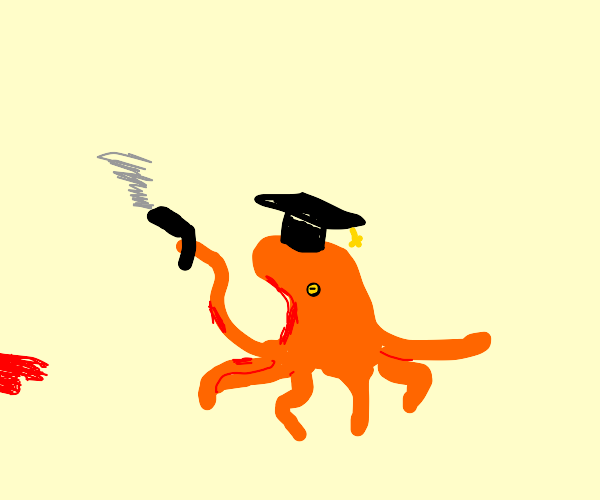 Octopus graduates but at a cost of lives