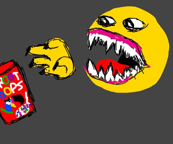 Your sleep paralysis demon wants fruit loops
