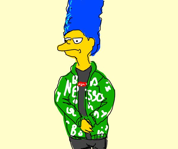 Marge simpson got that shiny drip