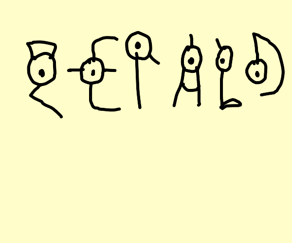Unown spelling out Gerald