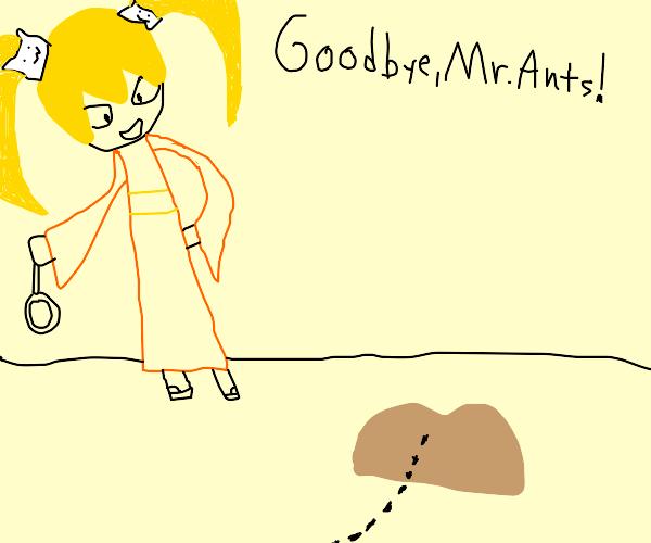 Hiyoko (danganronpa) vs Mr. Ant