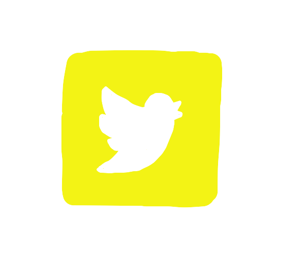 Twitter but it's yellow