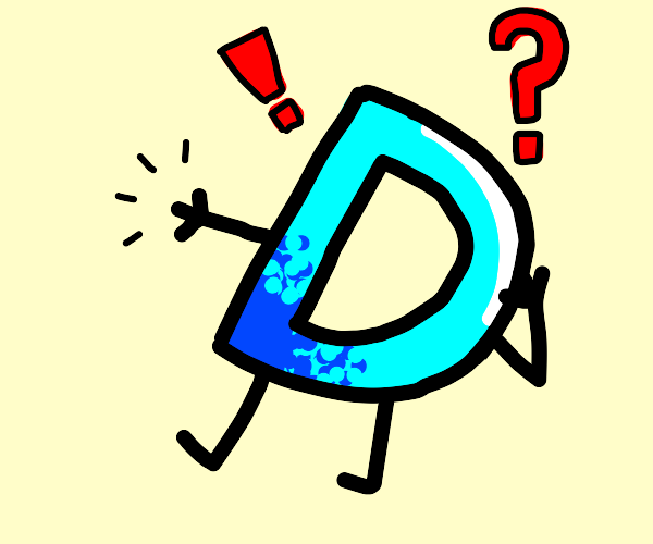 Drawception logo without his pencil