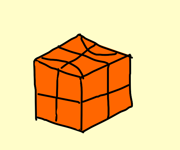 Basketball cube
