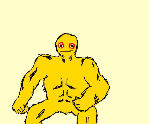 cursed emoji becomes a bodybuilder