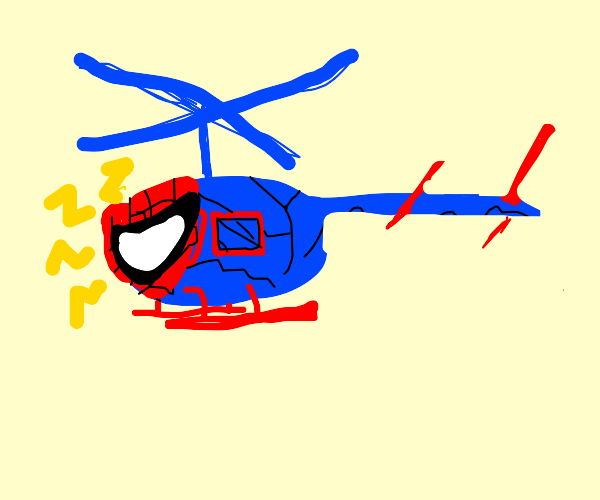 Ludicrous Spiderman Copter
