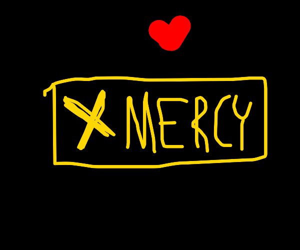 Mercy? (Undertale)